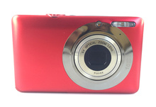 free shipping 5X optical zoom still compact camera with 2.7inch  lcd TFT dispaly