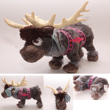 Disney Frozen Kristoff Reindeer 30cm Sven Stuffed Animals Plush Toys  Baby Brinquedo Cute Soft Toys For Children Christmas Gift