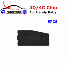 [5PCS/LOT] New Arrival 4D/4C Chip For CBAY Handy Baby Car Key Copy JMD Handy Baby Auto Key Programmer 4D 4C Chip Fast Shipping