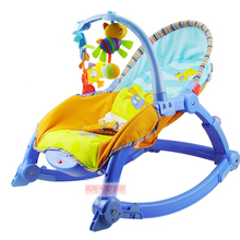 Free shipping musical baby electric rocking chair newborn baby swing baby bouncer swing chair baby rocker toddler swing chair(China)