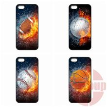 Cover Baseball Football Volleyball Water Fire For Xiaomi Max Redmi Note 4 For HTC One M10 For Motorola Moto X E G G3