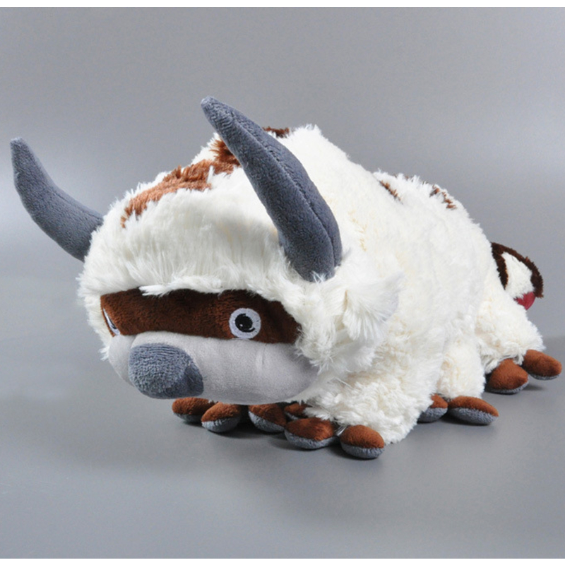 50CM Kawaii Plush Appa Soft Toy Avatar The Last Airbender Kids Toys Juguetes Plush Dolls For Baby Kids Christmas Gifts<br><br>Aliexpress