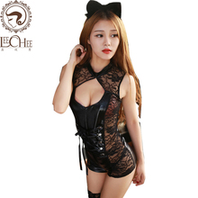 Buy Leechee Y012 women sexy lingerie lenceria sexo cosplay conjoined uniforms temptation embroidery erotic underwear porn costumes