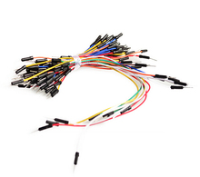 6Jump Wire Cable New Solderless Flexible Breadboard Jumper Cables Bread board jumper line 65P Dupont - NIUKE TAT (HK store ELECTRONIC CO LIMITED)