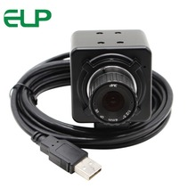 ELP 8megapixel High Resolution SONY IMX179 Mjpeg Hd USB Industrial Video Camera 6mm manual focus lens Webcams USB Camera 8MP(China)