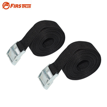 2x 3Meters Lashing Strap Cargo Belt Tie Down Rope Straps For Outdoor Camping Car Roof Box Luggage Racks Motorcycle Canoes Kayaks