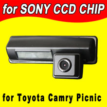 CCD  Car rearview Camera backup reverse for Toyota Picnic Echo verso Harrier Camry Lexus Avensis for GPS radio waterproof  NTSC