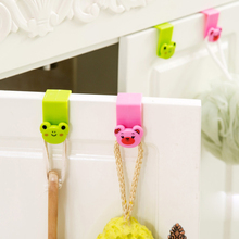 2016 Rushed Sale Hanger Cute Animal Kitchen Sink Cupboard Over The Door Hooks Back Style Household Garbage Bags Debris Supplies