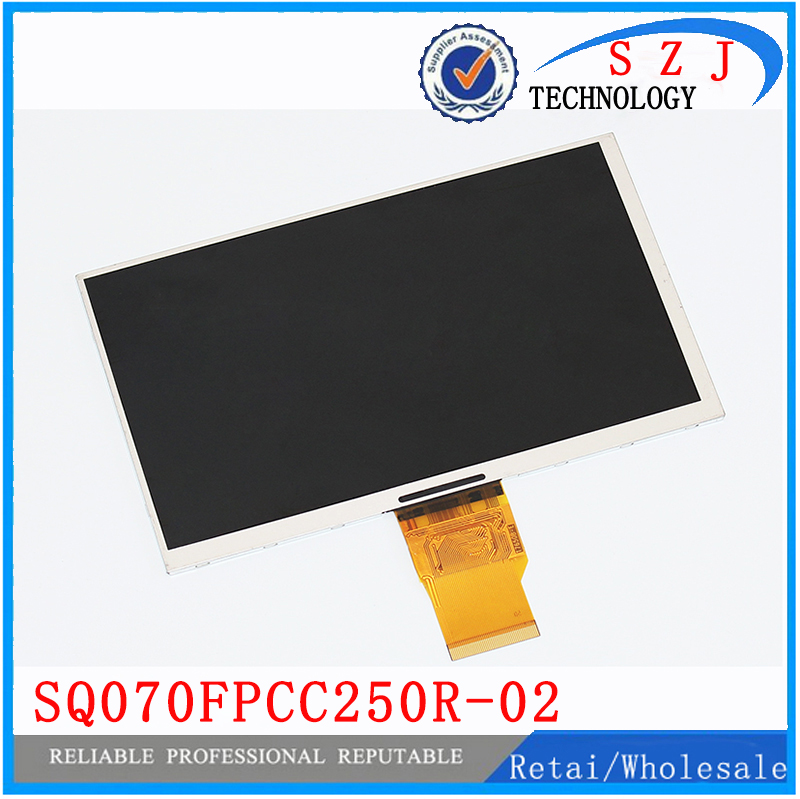 New 7 inch screen LCD display SQ070FPCC250R-02 Resolution 1024*600 for Changhong H702 3G 700CPNT-50Z-HD tablet Free shipping<br><br>Aliexpress