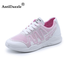 Antidazzle Running shoes women sneakers Lightweight Female Outdoor Athletic Canvas Lovers walking sport tennis Trainers shoes(China)