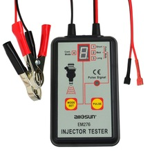 Digital Automotive Fuel Pressure Injection Pump Injector Tester 12V Car Vehicle Diagnostic Tool 4 Modes(Hong Kong,China)