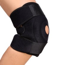 Neoprene KNEE SUPPORT Open Patella Sleeve Ligament Brace Knee Pad Wrap Sport protector 1 pcs(China)