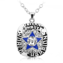 European Classic NFL 1971 Dallas Cowboys Super Champion Necklace for Women Men Jewelry Collection Gifts JJAL N362