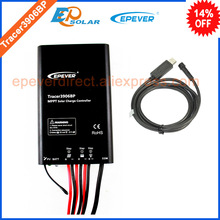 Solar battery charge controller Tracer3906BP 15A 15amp with PC cable USB communication EPsolar EPEVER(China)