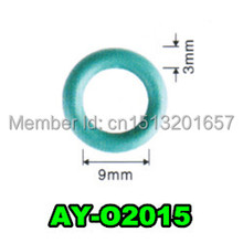 200pieces/set High Temperature rubber seals o rings for Toyota  fuel injector  repair kits (AY-O2015)