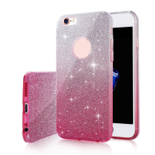 Thin Bling Glitter Gradient Soft Silicone Phone Case For iPhone 6s Plus Gradual Change Color Crystal Clear Cover For iPhone6 6s