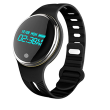 IPS round screen Bluetooth Smart Watch with TPU belt sport smart wristband Passometer Fitness Tracker Call Reminder smartwatch