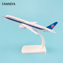 16cm Alloy Metal Air China Southern Airlines Plane Model Boeing 777 B777 Airways Aircraft Airplane Model W Stand  Gift