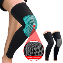 1PCS Sports Accessory Knee Support Football Cycling Knee Support Professional Protective Compression Knee Pad Sleeve(China)