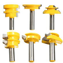 "3pcs/set Lock Miter Glue Joint Drawer Router Bits 1/2"" Shank Router Bits For Woodworking Cutter Tool"