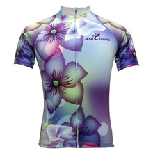 Cycling Jersey Women New Design Breathable Summer Short Sleeve Cycling Shirts Quick-Dry Bike Jersey in 6 Colors(China)