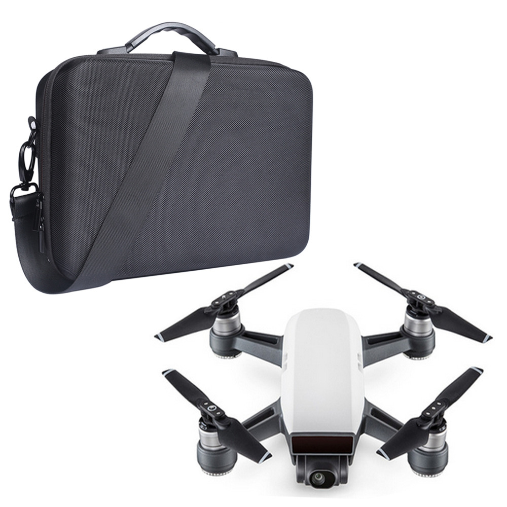 Fabric Shell Waterproof Storage Bag Carry Case Handbag for DJI Spark RC Drone Accesssories(China)