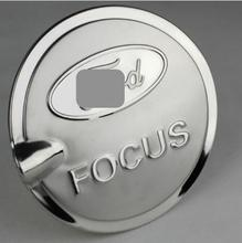 For Ford Focus 3 Tank Cover Trim Gas Oil Cap Frame Decoration Stainless Steel Car styling Accessoies(China)