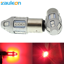 Zauleon 2pcs 1157 BAY15D P21/5W Red LED Car Tail light Bulb Brake Lights Lamps Auto rear light Replace LED car light(China)
