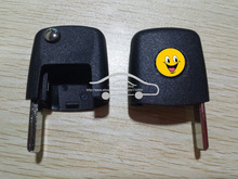 Folding Remote Key Head With Chip Can ID48 For Seat Late models Cordoba,Ibiza,Leon,Toledo Uncut(China)