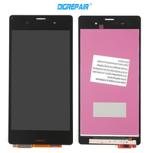 5 inch black white For Sony Xperia Z3 D6603 D6643 D6653 LCD display touch panel screen digitizer Assembly Replacement Parts
