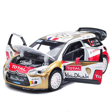 1/26 Alloy Racingl Car Model, Quality Racing Model in 15Cm in Length, W/Music N Sounds/ 3 doors Open