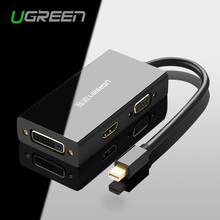 Ugreen Thunderbolt Mini Displayport DP to HDMI VGA DVI Adapter Converter Cable For Apple MacBook Air Pro Mini DP to HDMI VGA DVI