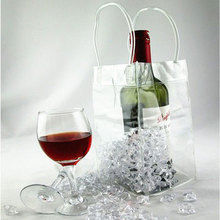 Convenient Wine Beer Champagne Bucket Drink Pouch Bar Ice Bag Cooler Chiller Bag New #58389