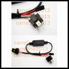 Rockeybright HID H4 3 Hi Lo bike motorcycle car Bi-Xenon relay harness h4 hid conversion kit wiring harness(China)