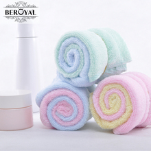 New 2017 Hand Towel -- 15pc/Lot Bamboo Towel Baby Face Cloth Plain Dyed Children Bibs Soft Towels bathroom Brand Towel 25*25cm