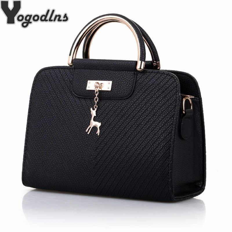 5c00f9f70e03 Модные сумки 2019 Новый Для женщин кожаная сумка большая Ёмкость сумки на  плечо Повседневное тотализатор Простой