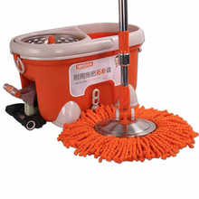 TOPOTO hand pressure magic rotating mop with 6pcs mopheads four-drive topologies good source of power pulled away