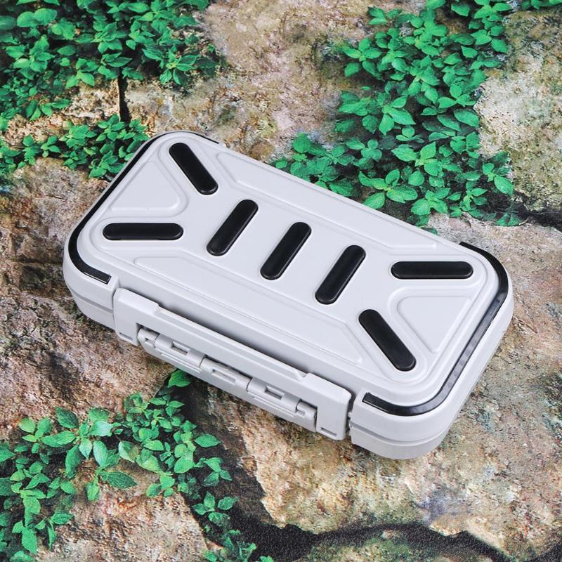 Kunststoff Lager Box Fischköder Köder Hook Tackle Case Container Zubehör Neu