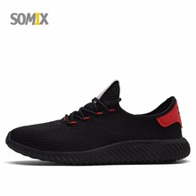 Buy Somix Mesh (Air Mesh) Men's Light Running Shoes New Breathable Outdoor Fitness Sneakers Men Fun Run Jogging Sport Shoes Male for $24.75 in AliExpress store