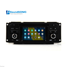 Android 4.4.4 For Jeep Wrangler Grand Cherokee Liberty Car Stereo Radio DVD GPS Navigation Sat Navi Multimedia Media System