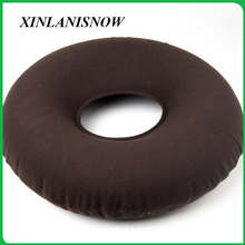 Round Seat Cushion Inflatable Vinyl Ring Medical Hemorrhoid Pillow sedentary hemorrhoids patient medical cushion
