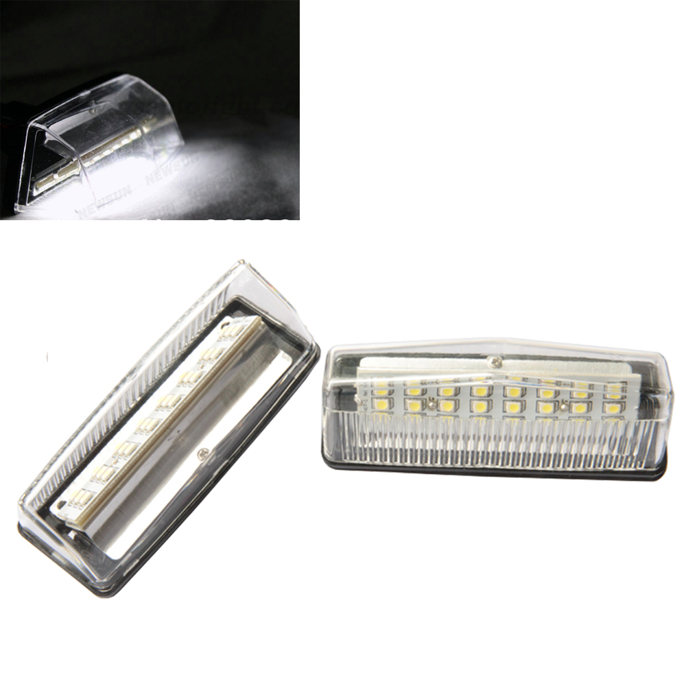 Fit Prius ZVW 30/NHW20 led license plate light,Prius number led license light,canbus 24SMD Prius ZVW 30 LED License Plate Lamp<br><br>Aliexpress