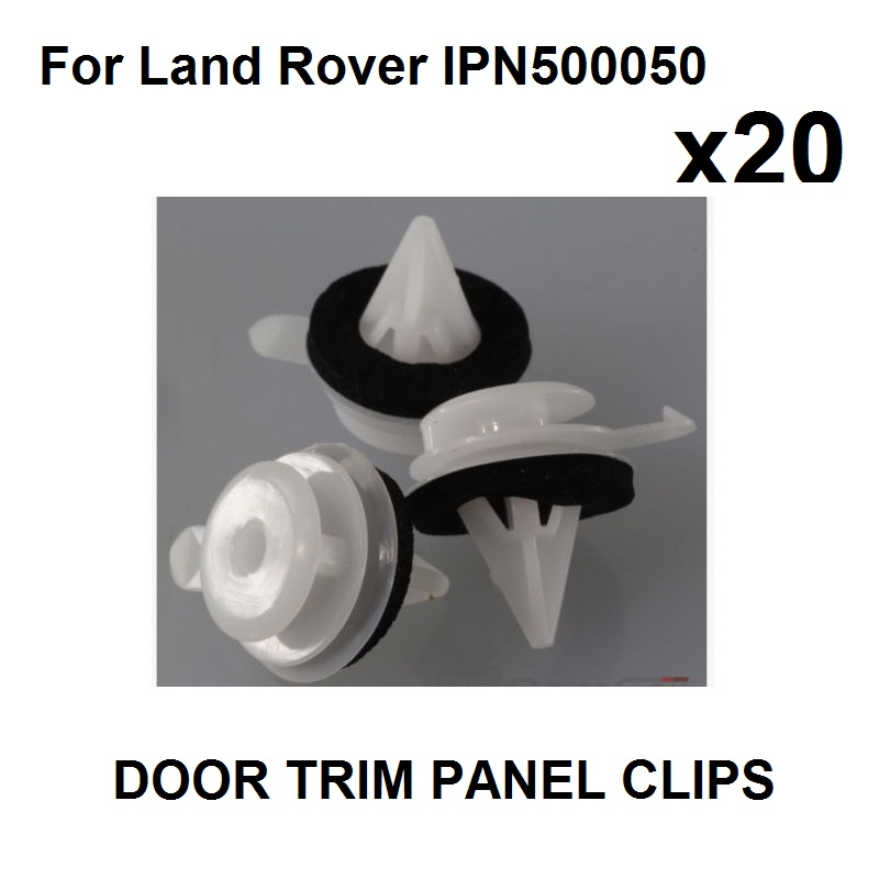 10x LAND//RANGE DISCOVERY Door Body Lining Trim Panel Fastener Clips 5-6mm
