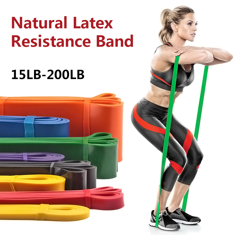 Pull Up Assist Bands Heavy Duty Resistance Gym Fitness Premium Natural Latex Red