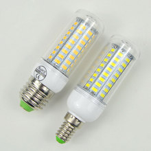 1 X Cheap E27 E14 LED Corn bulb lamp 5730 SMD 24/36/48/56/69 LEDs Spotlight Replace 7W 12W 15W 20W 25W Fluorescent Light 220V