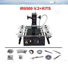 On promotion!!! low cost IR6500 V.2 BGA Rework Station BGA welding machine+ pcb jig with screw, vacuo pen,bga reballing kits