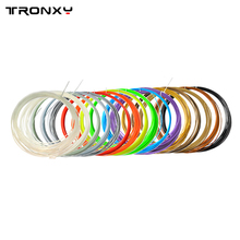 20 color or 10 color/set 3D Printer Pen Filament PLA 1.75mm Plastic Rubber Consumables Material 3d pen filament