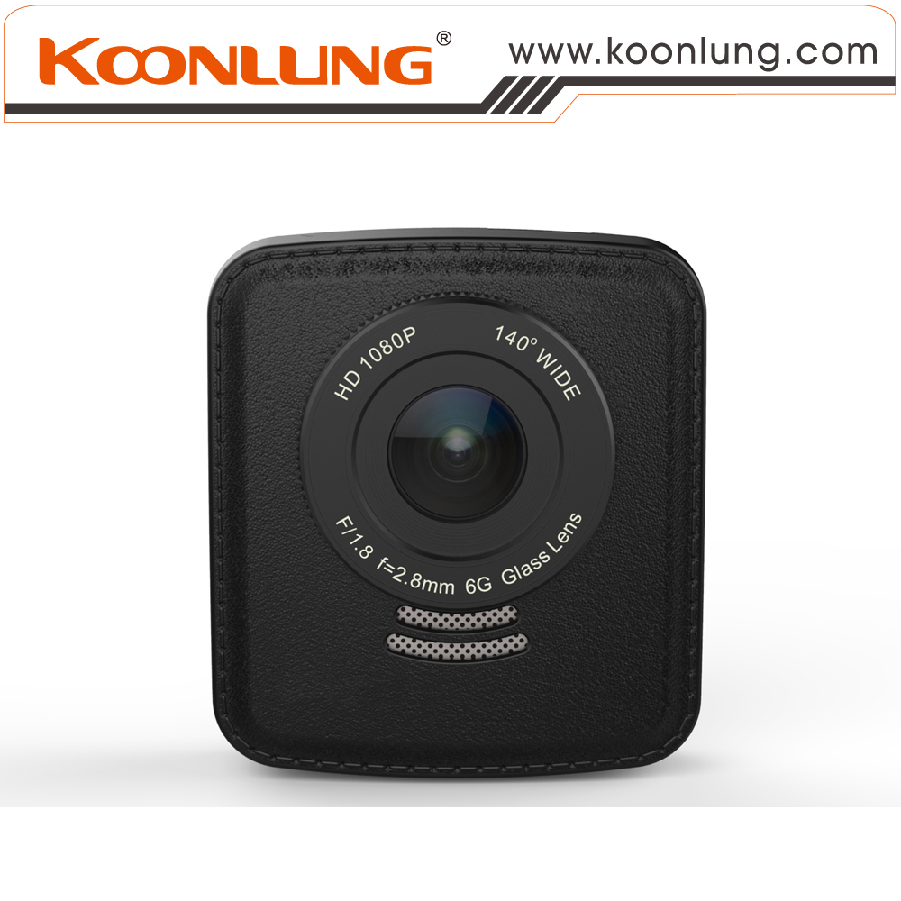Koonlung A76GW Car DVR Single Lens 140 Degree Wide Angle 1080P HD Recorder G-Sensor Motion Detection Cycle Recording LDWS WDR<br><br>Aliexpress
