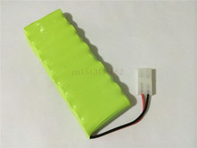 10PCS/lot New Origina AA Ni-MH 12V 1800mAh Ni MH Rechargeable Battery Pack With Plugs Free Shipping