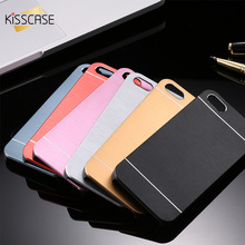 Buy KISSCASE Aluminum Plastic Case Apple iPhone 5 5S SE 4S Metal Hard Back Phone Cases iPhone 7 6 6S Plus Cover Shell Capa for $1.89 in AliExpress store